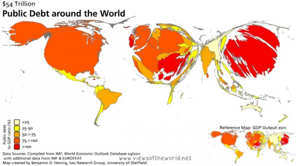 world debt 2011