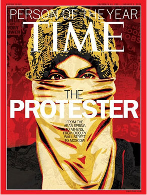 Time: The protester