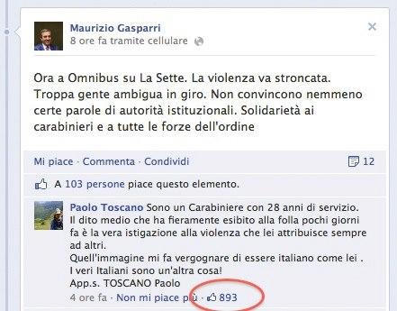 gasparri-vs-carabiniere